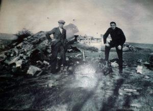 Crash aérien entre Gottignies et Ville-sur-Haine en 1944