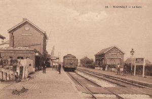 L'ancienne gare de Mignault