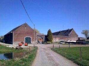 La ferme de Cantraine s'adapte au fil du temps