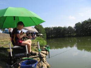 Les échos de l'étang du Perléco à Gottignies...